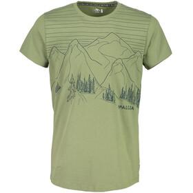Maloja BuolfM. t-shirt Heren olijf